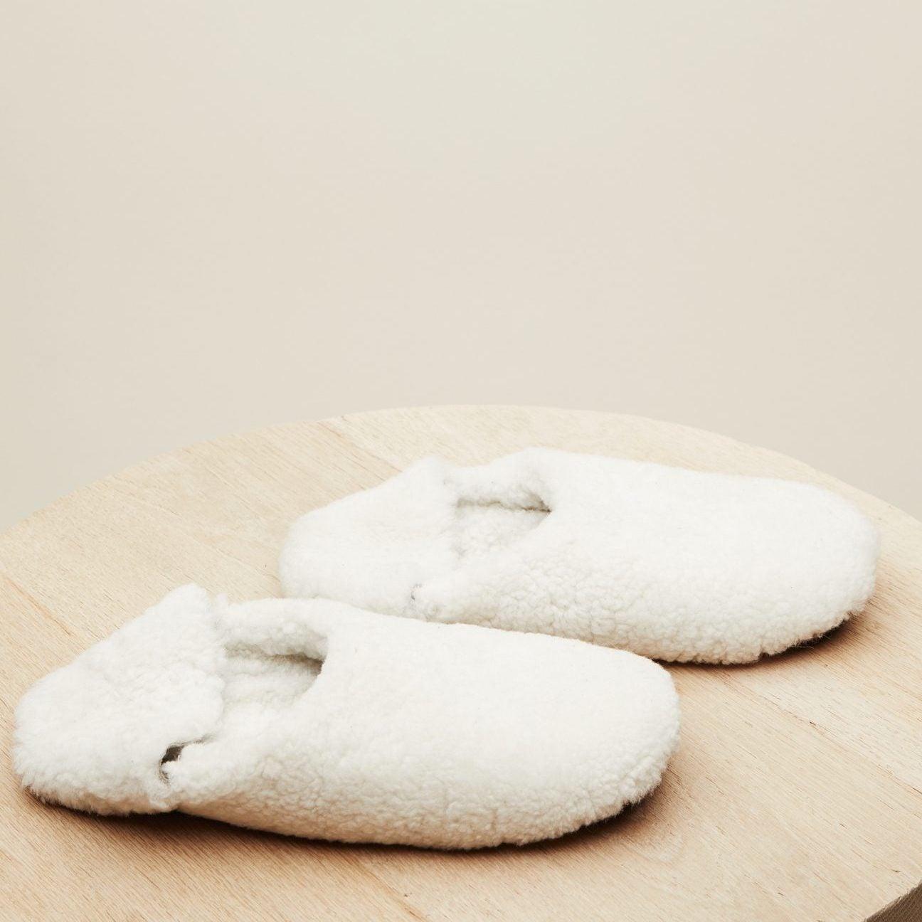 Shearling Moroccan Slipper