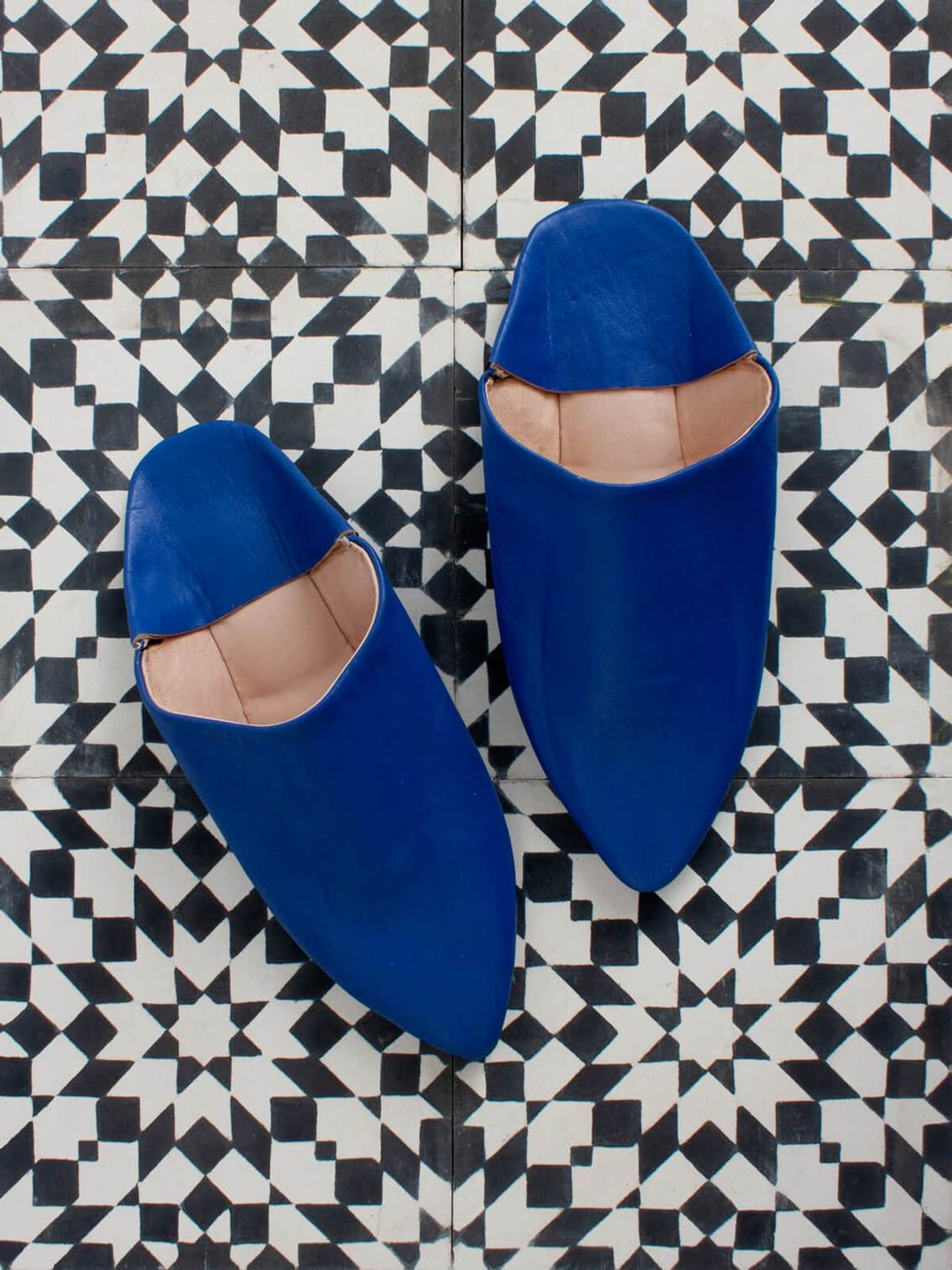 featured_NEW STYLE- Moroccan Classic, Pointed Babouche Slippers
