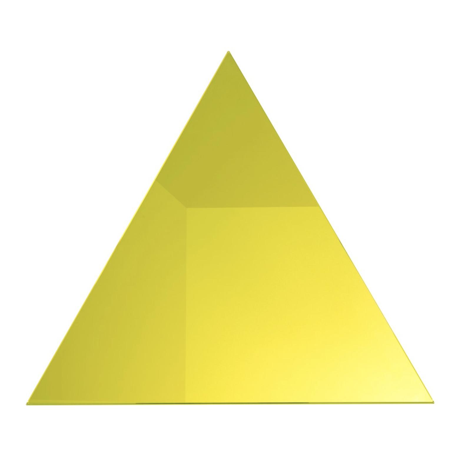 Triangle Yellow Mirror