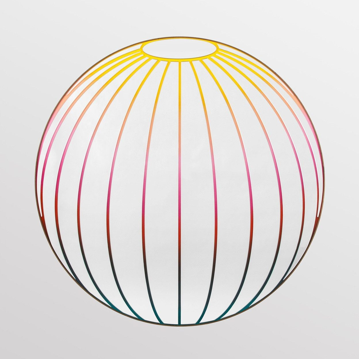 Multicolor Sphere Mirror by Bower