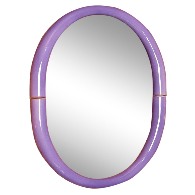 Purple Entler Mirror
