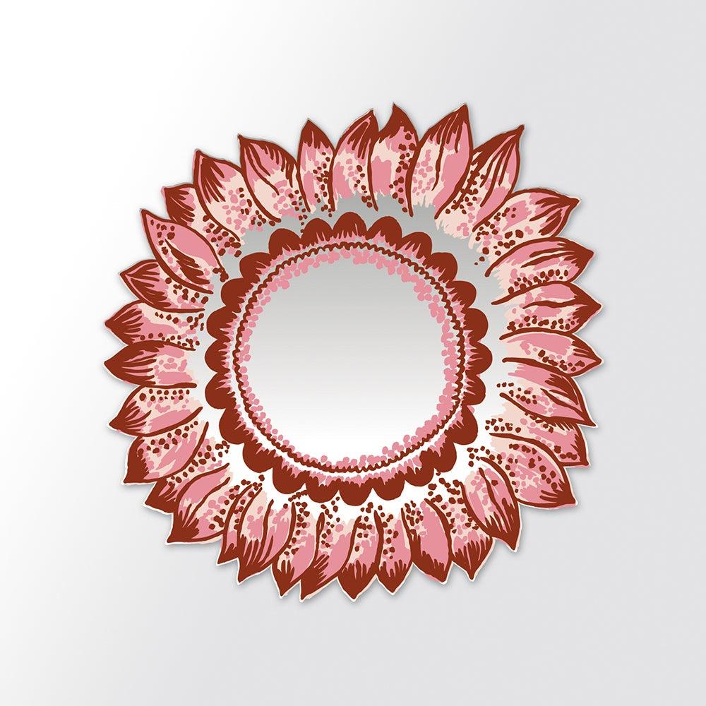 Red Sunflower Mirror