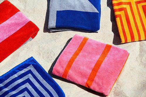 Lateral Objects Beach Towel Set Beach