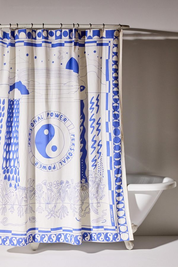 Lea Carey UO Exclusive Personal Power Shower Curtain