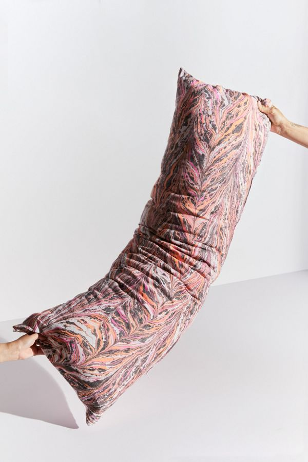 Marbled Body Pillow