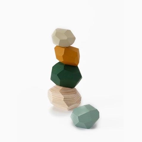 Tumi-isi wooden blocks