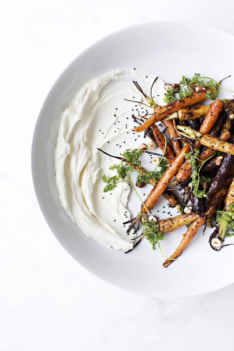 roasted-tricolor-carrots