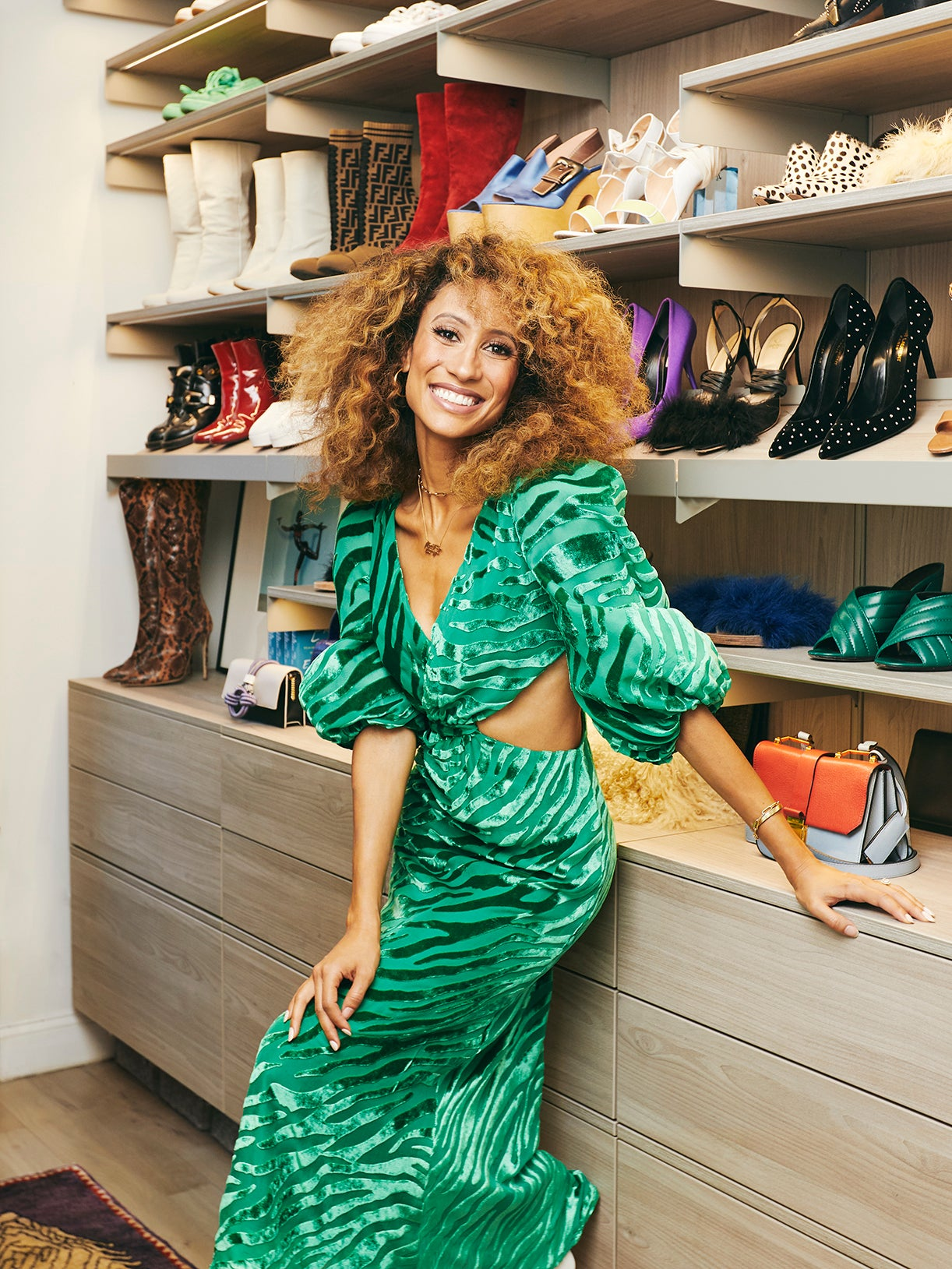 Elaine Welteroth's Custom Closet Is a Master Class In Organization