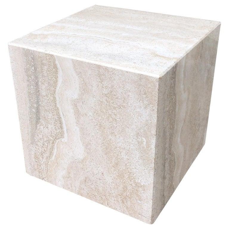 Travertine Cube