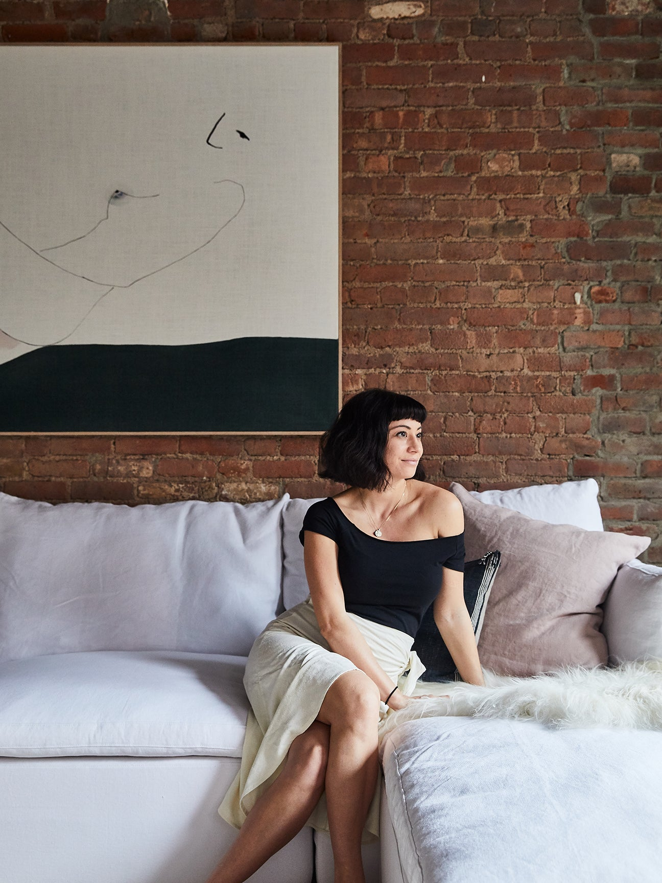 Only the Brick Walls Are Original in This Soho Loft Makeover