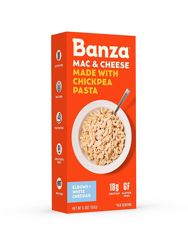 Banza Chickpea Pasta – High Protein Gluten Free Healthy Pasta
