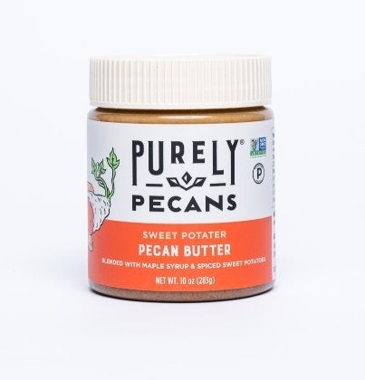 Clean Pecan Butter with Sweet Potato- VEGAN- PALEO-Certified