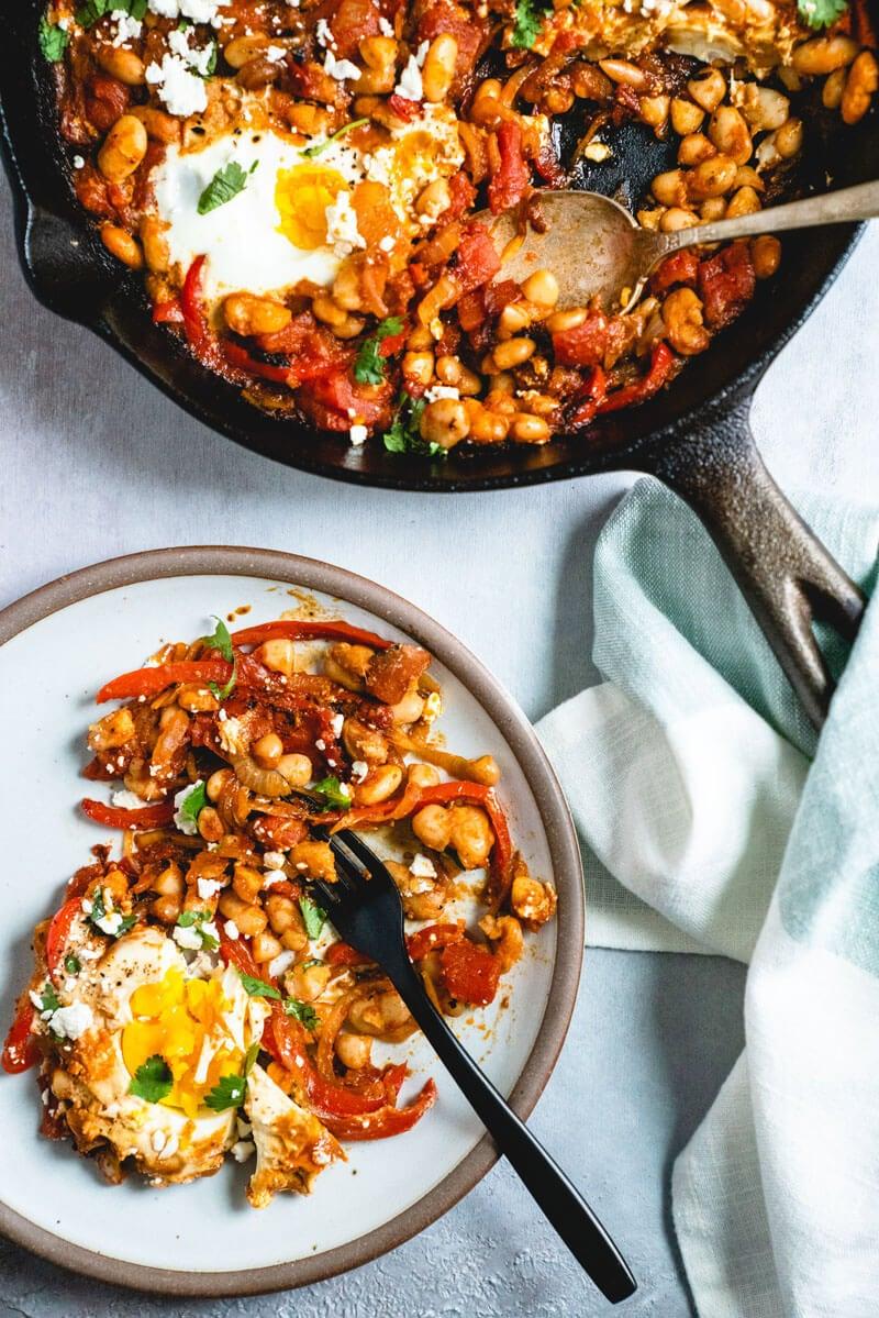 shakshuka-bean-feta-breakfast