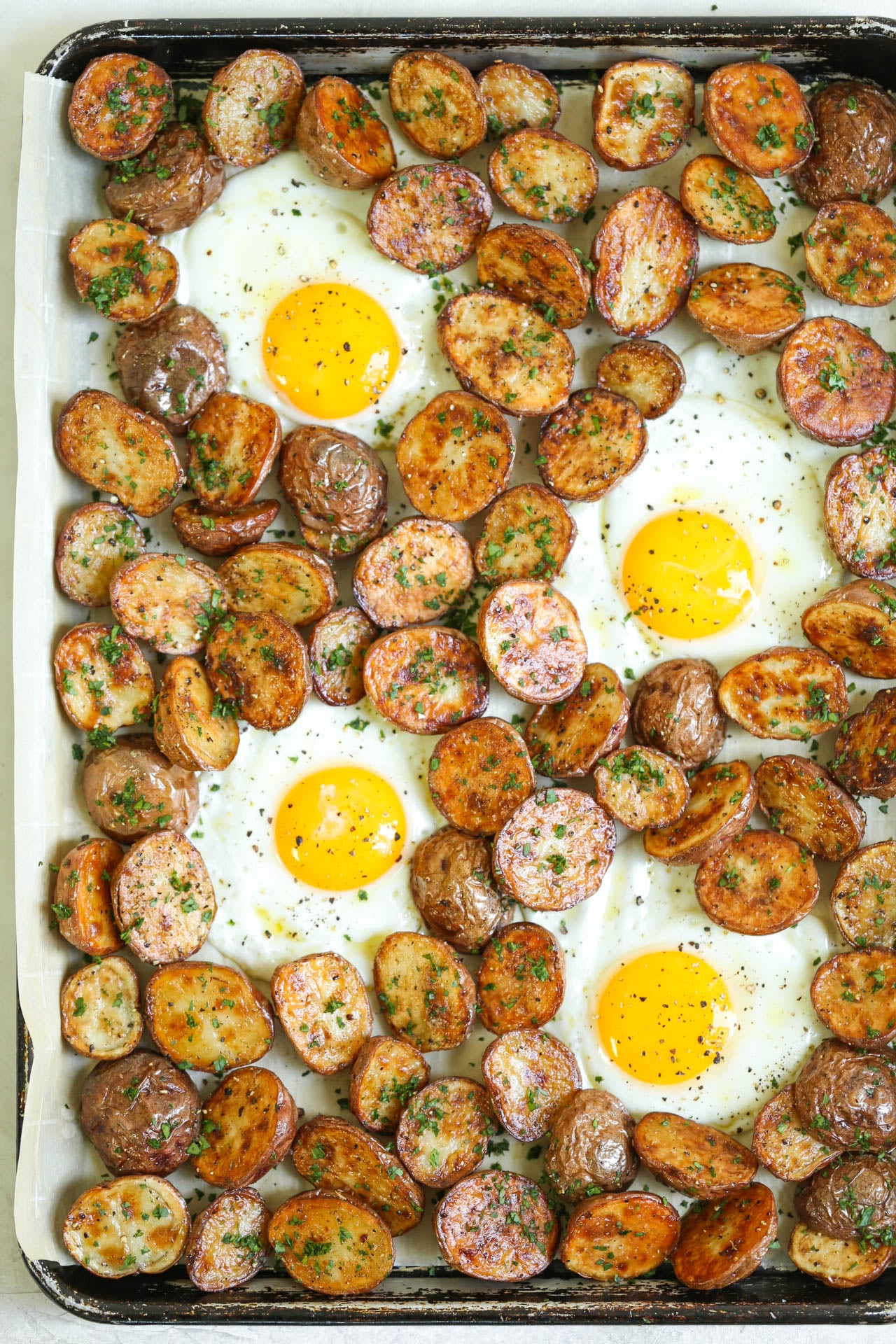 roasted-potatoes-eggs-sheet-pan
