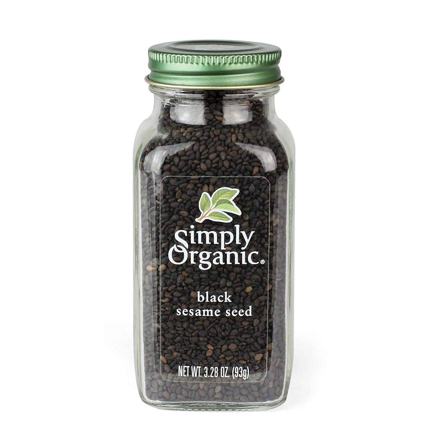 Simply Organic Certified Black Whole Sesame Seed