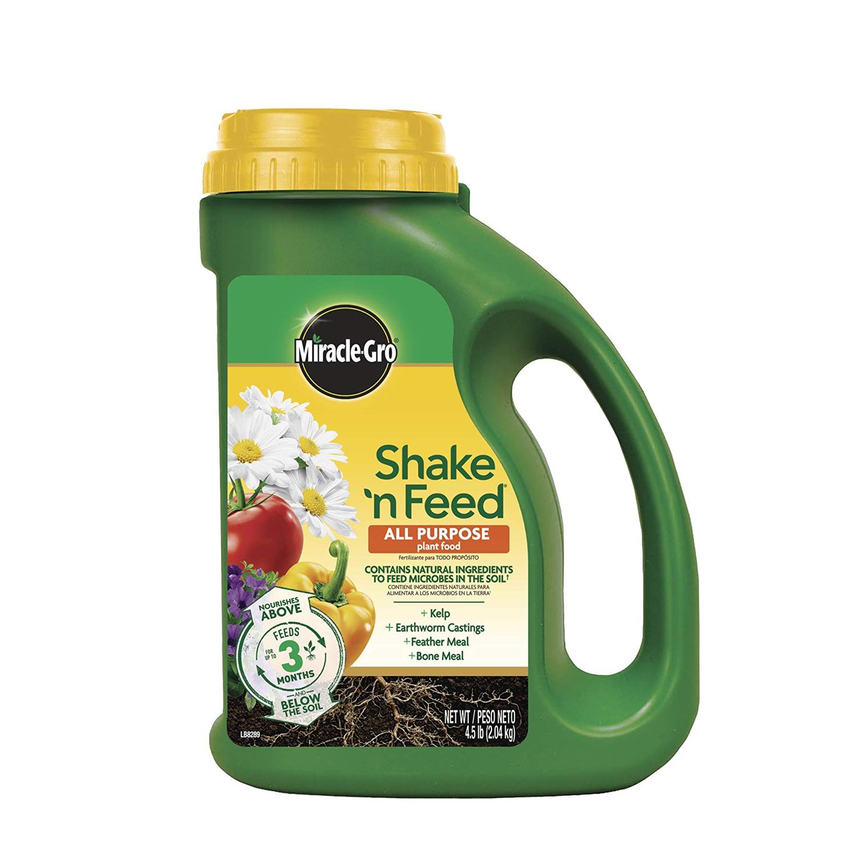 1-Miracle-Gro Shake 'N Feed All Purpose Plant Food