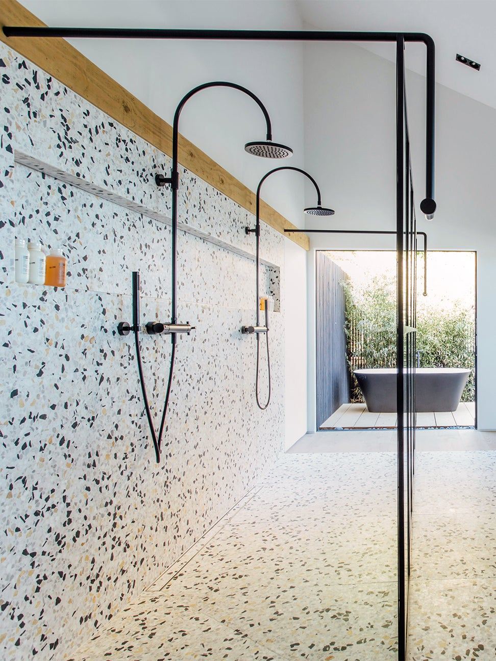 This Terrazzo Tile Bathroom By The Brown Studio Makes A Case