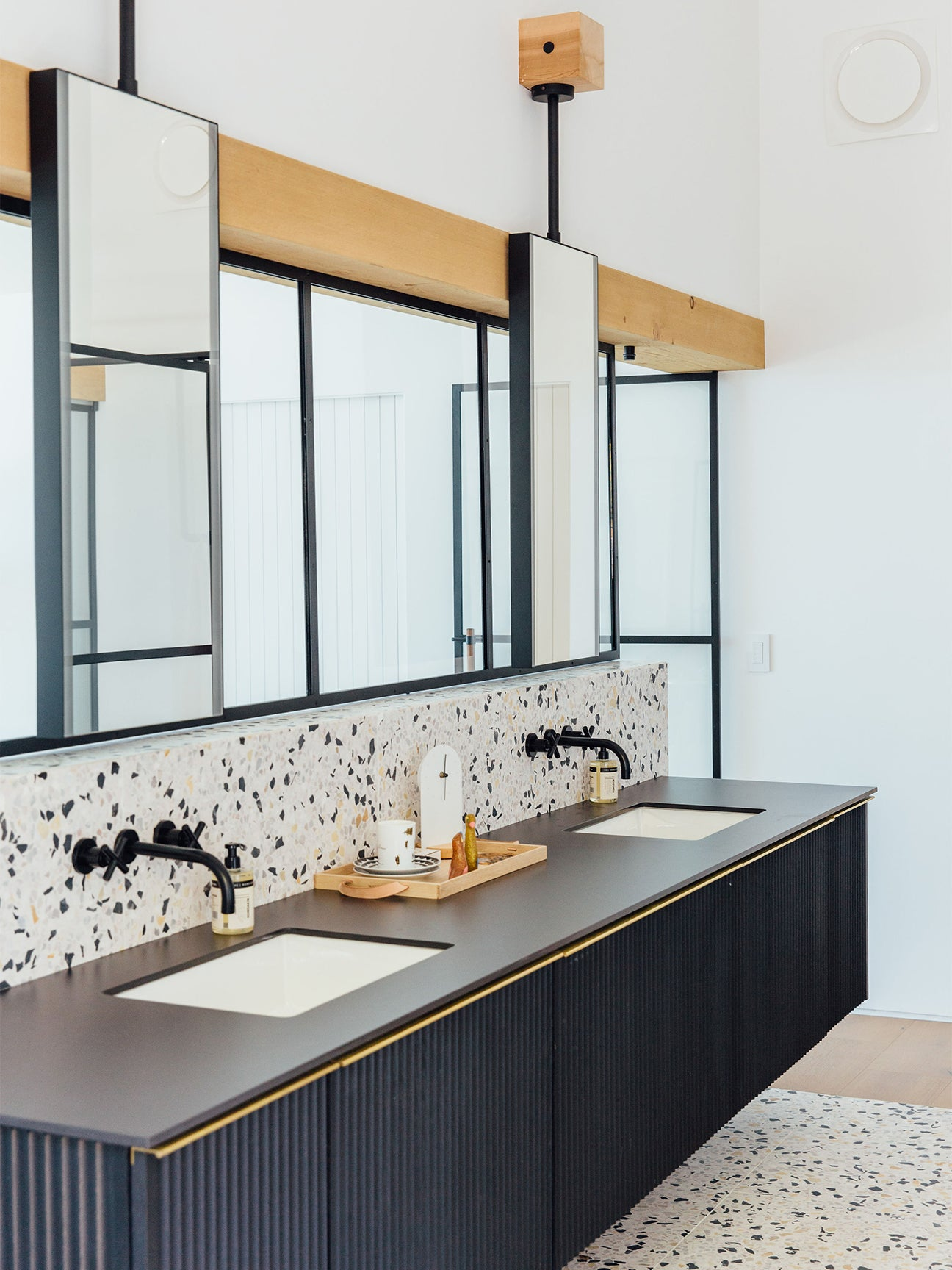 This Terrazzo Tile Bathroom By The Brown Studio Makes A