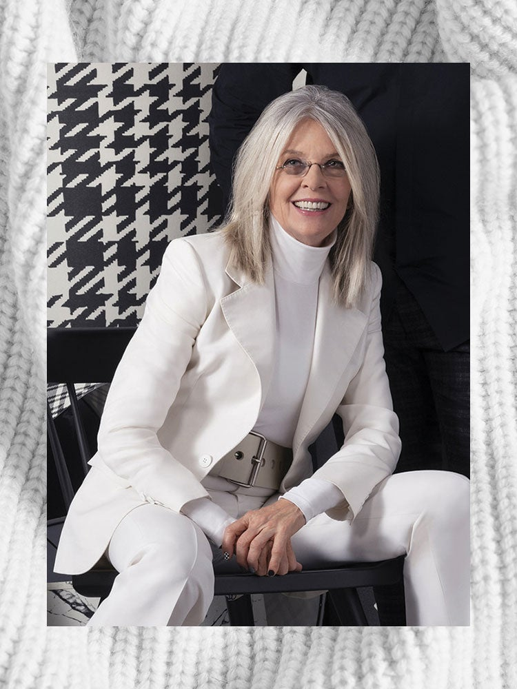 Diane Keaton Debuts Her Bold Lighting Collection At High