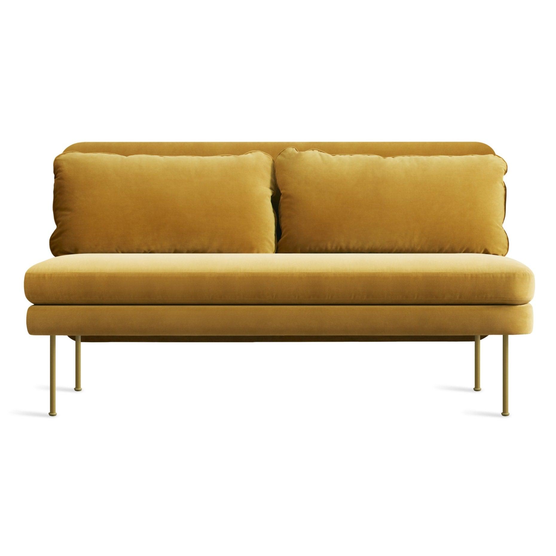 Bloke 60_ Armless Velvet Sofa
