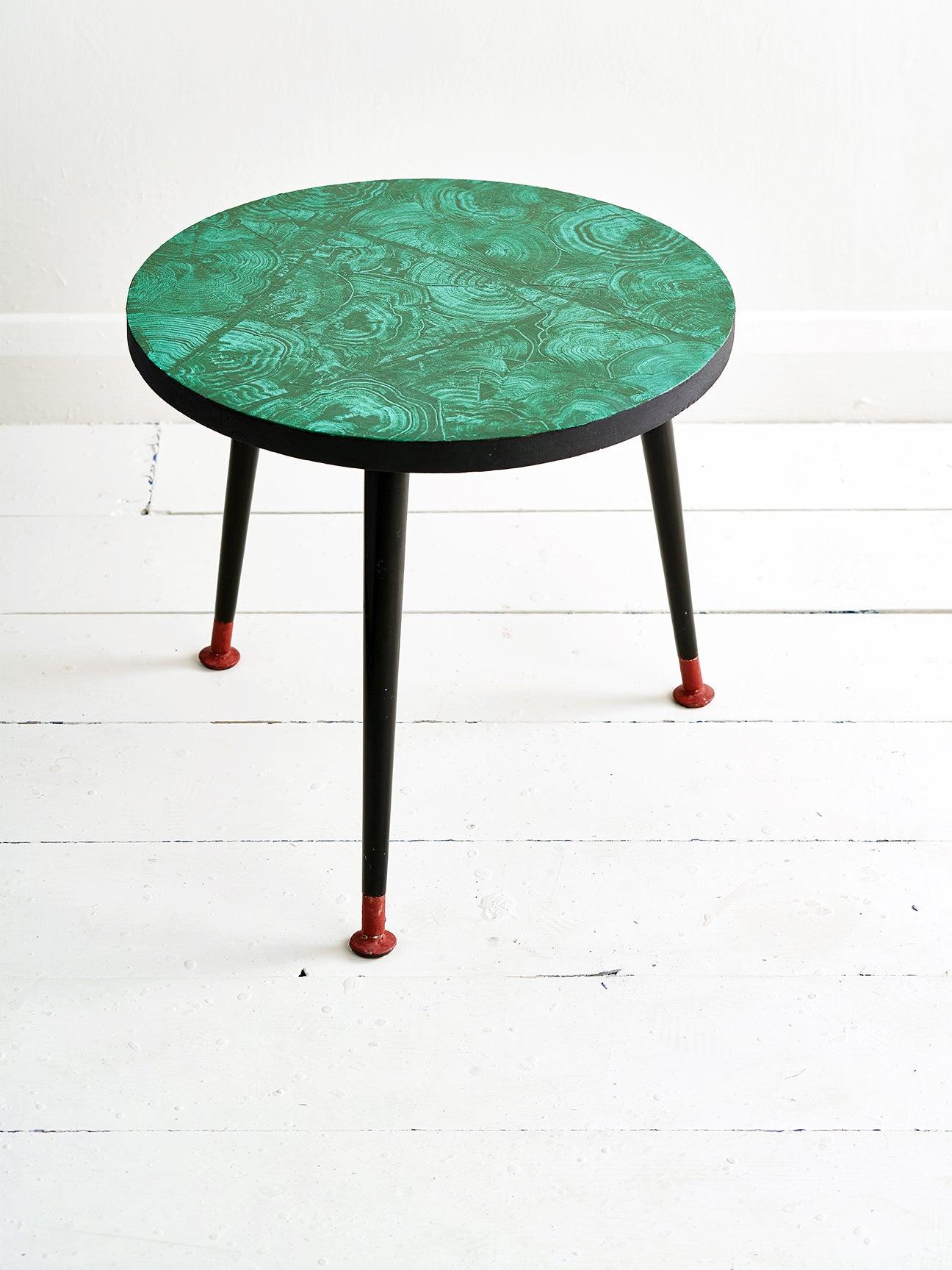 malachite green table top