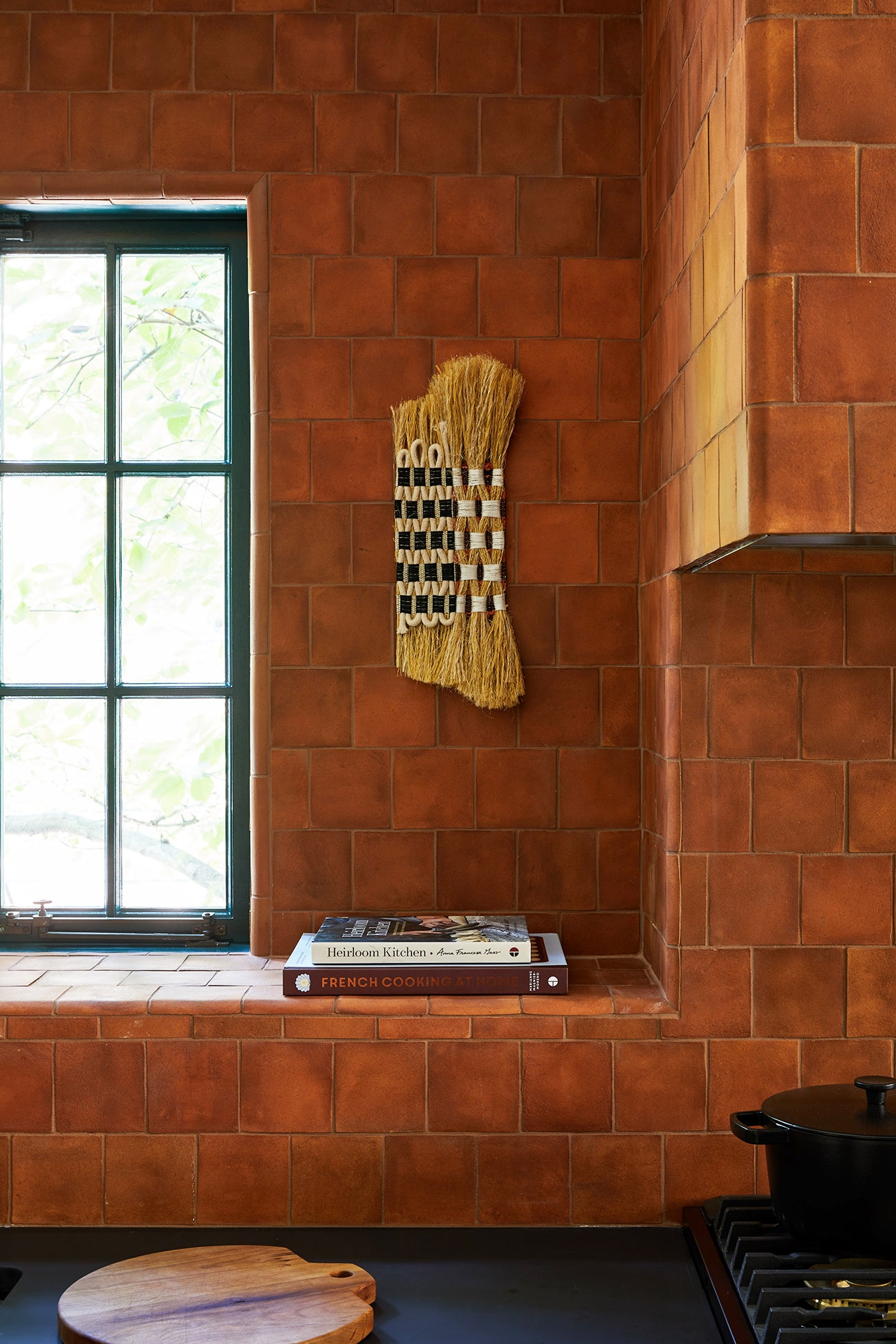 Terra Cotta Tile in Kitchen