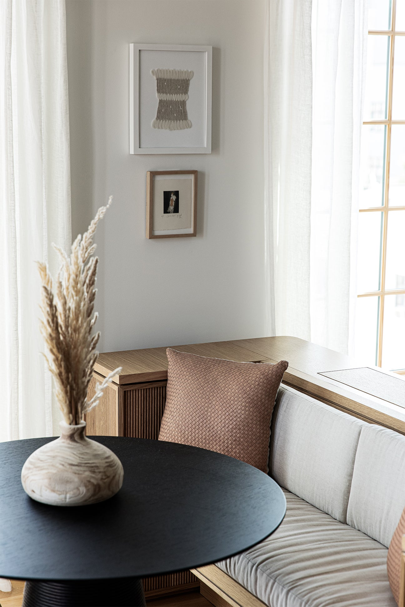 Dining Banquette in Small Apartment