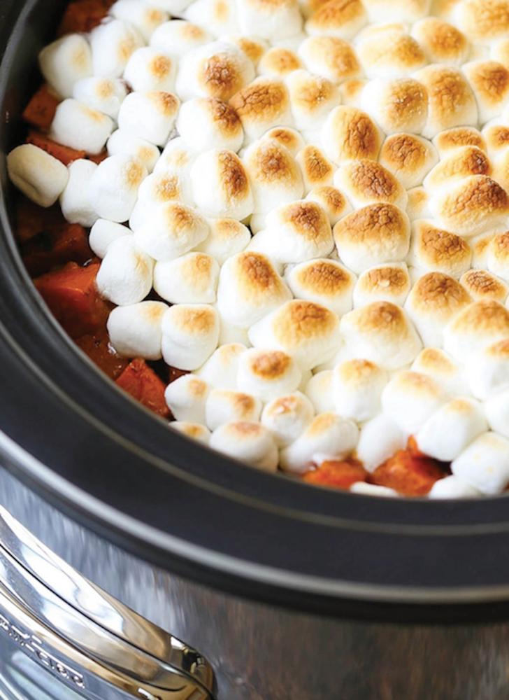 marshmallow topping sweet potato dish