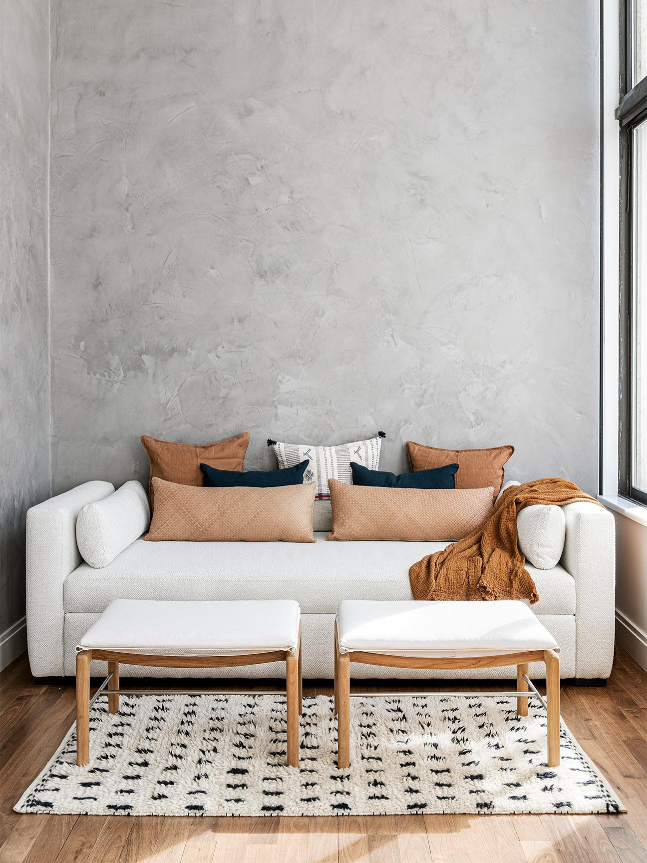 3 Small Living Room Layouts That'll Inspire You to Downsize