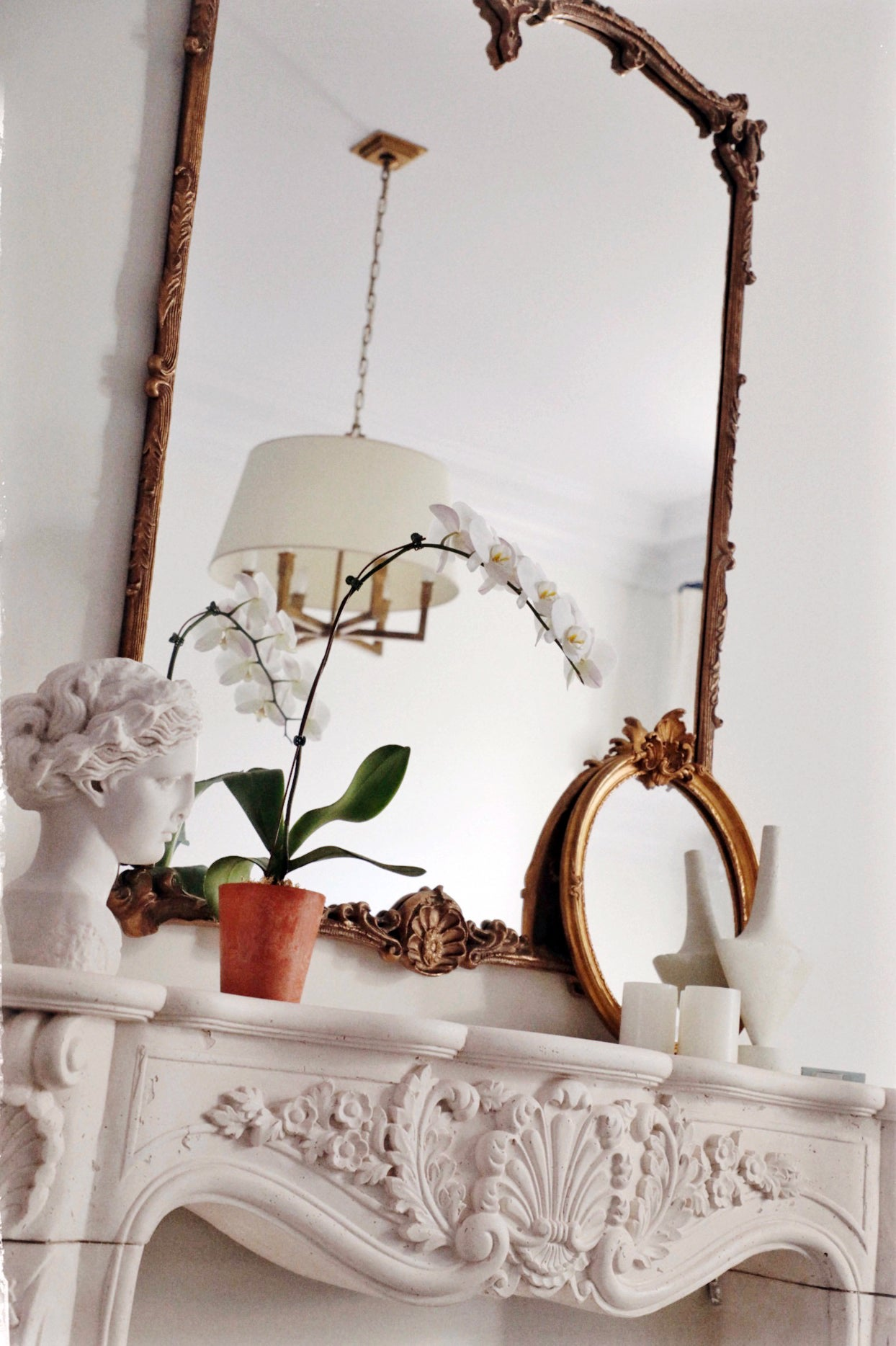 mantel-with-mirror