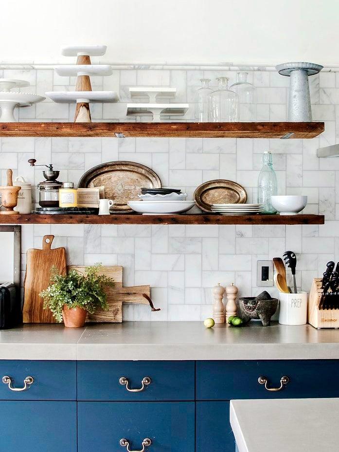 blue-kitchen-open-shelving