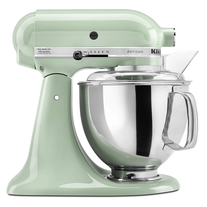 pistachio green stand mixer