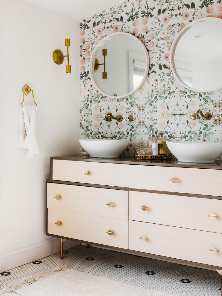Anyone Can Turn a Dresser Into a Bathroom Vanity