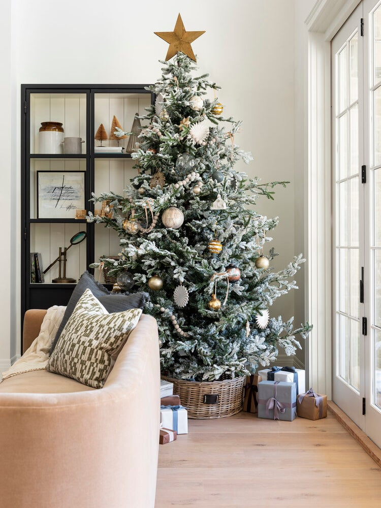 The Simple Accessory Shea McGee Used to Elevate Her Christmas Tree