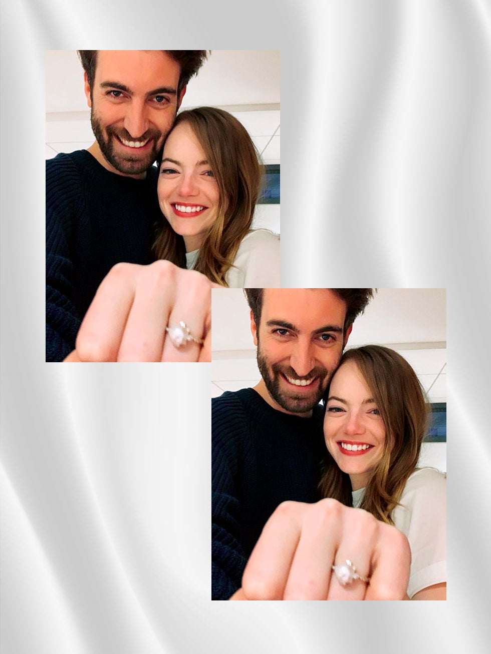 Emma Stone's Engagement Ring Suggests This Nontraditional Style Is on the Rise