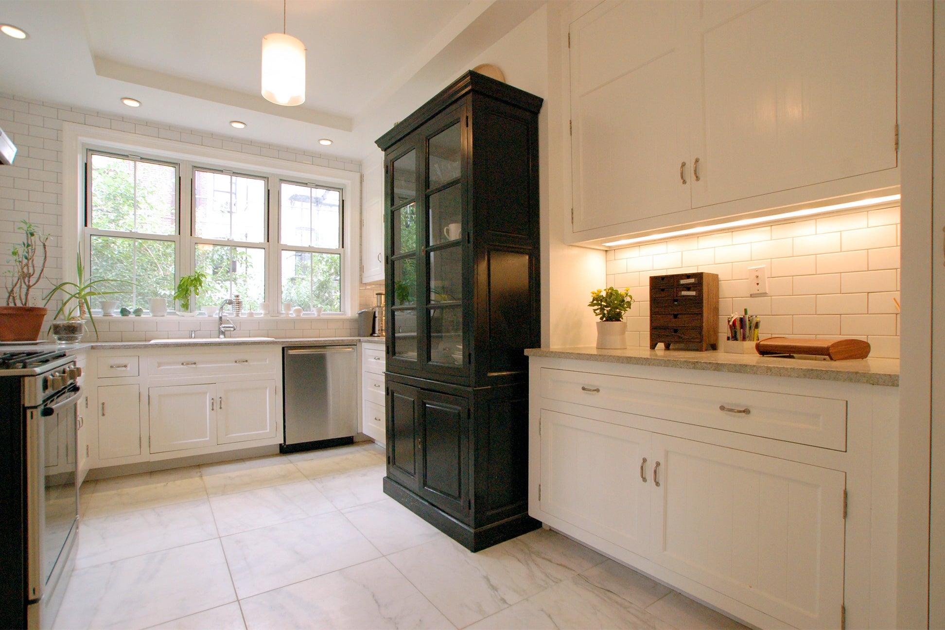 Reclaimed custom kitchen cabinets