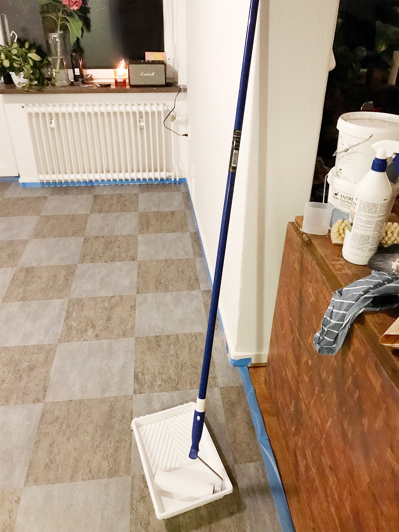 This Terrazzo Floor Diy Is As Cool As The Real Deal