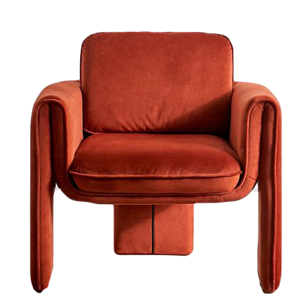 Floria Velvet Chair Urban Outfitters 349 Domino