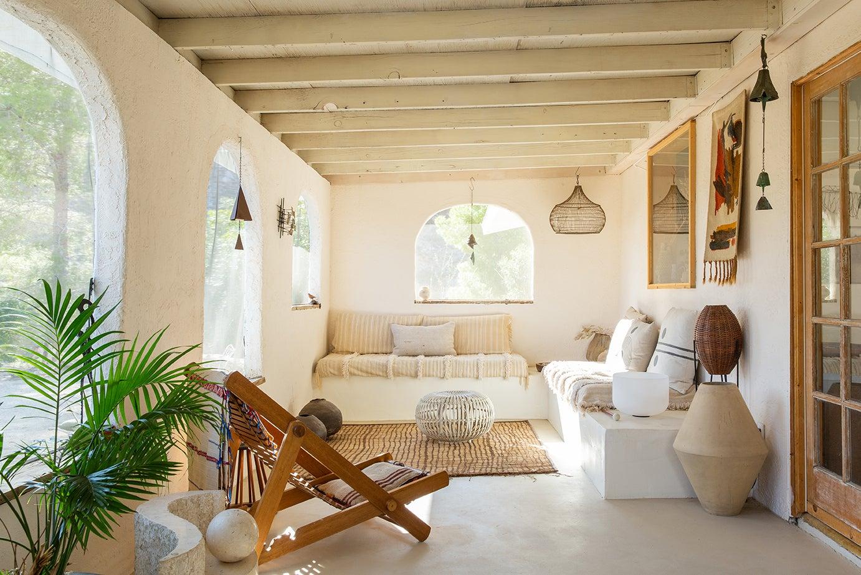 Desert sun room