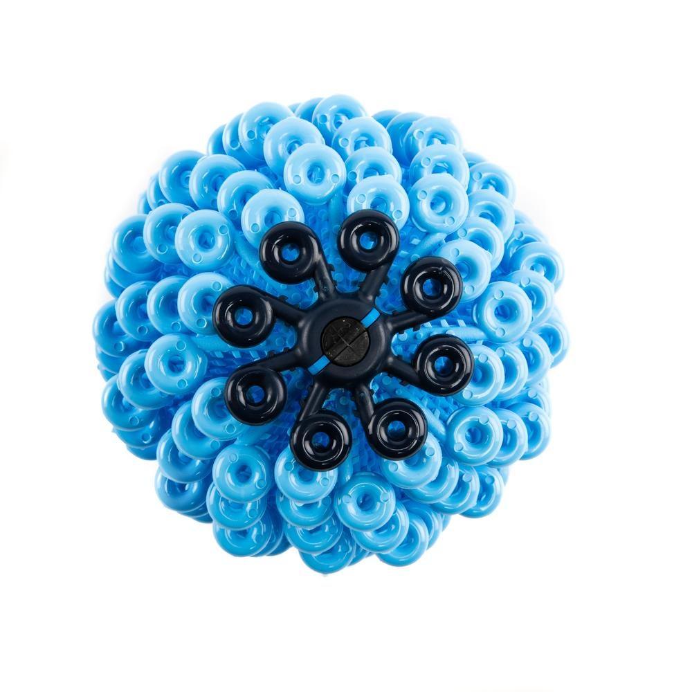 Blue laundry ball