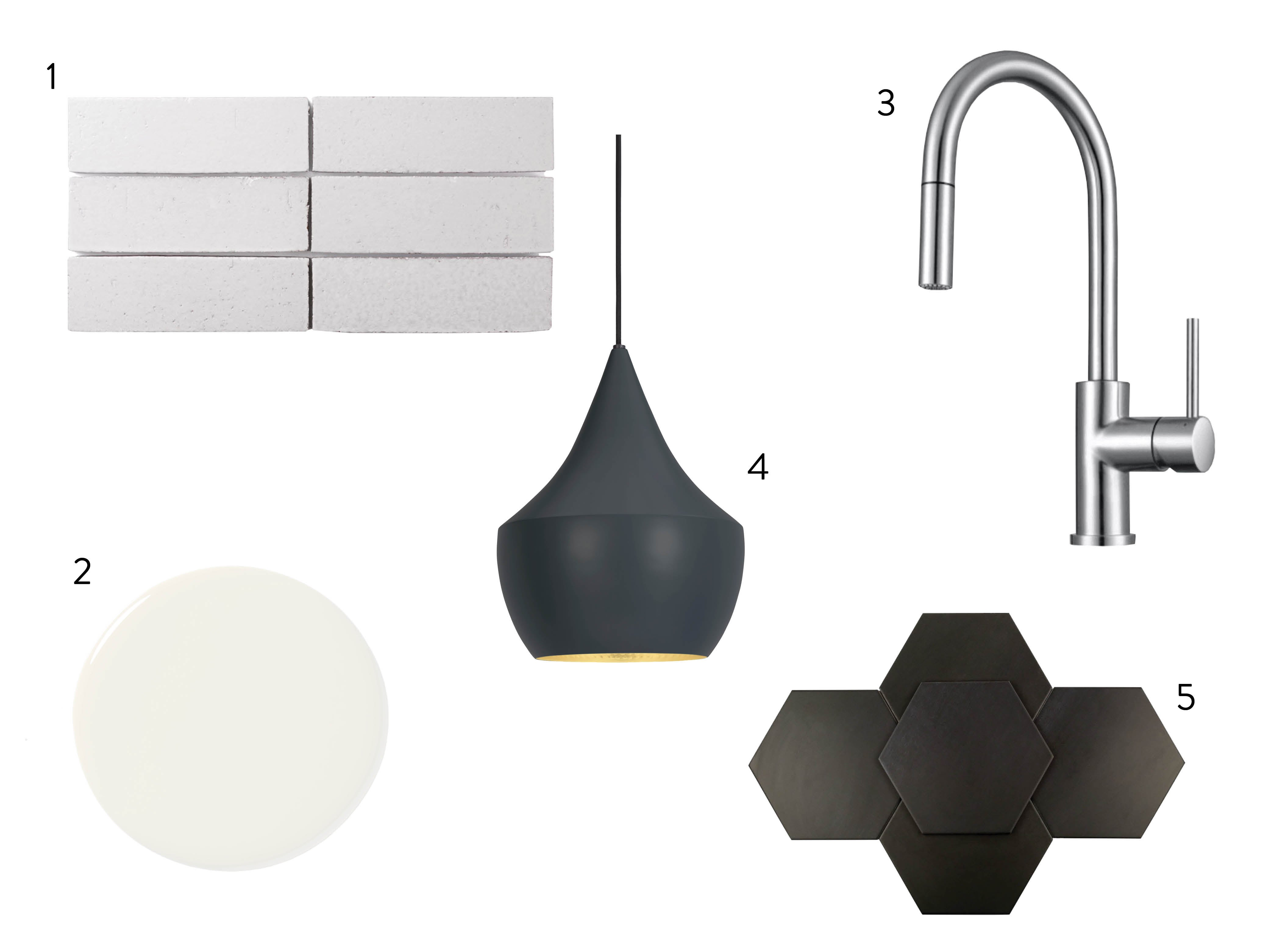 sink and tile and light fixture and paint