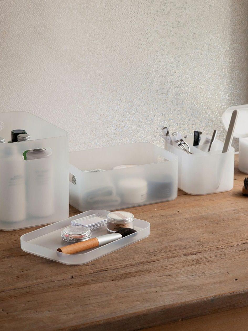 organization makeup boxes