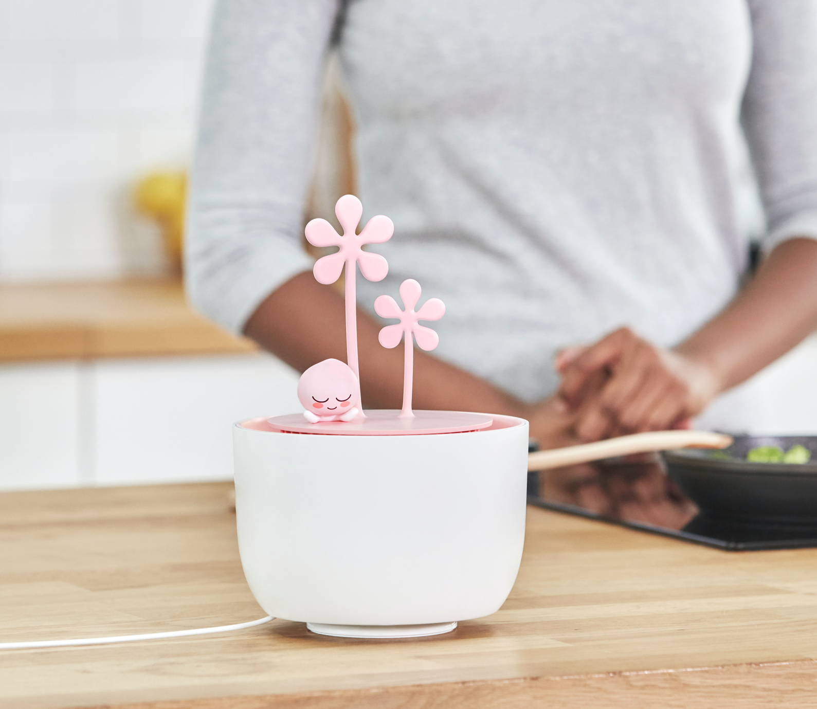 pink flower humidifier