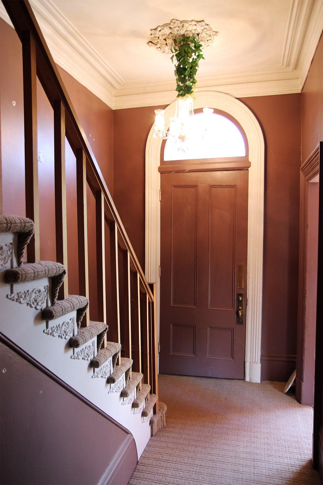 Victorian entryway before
