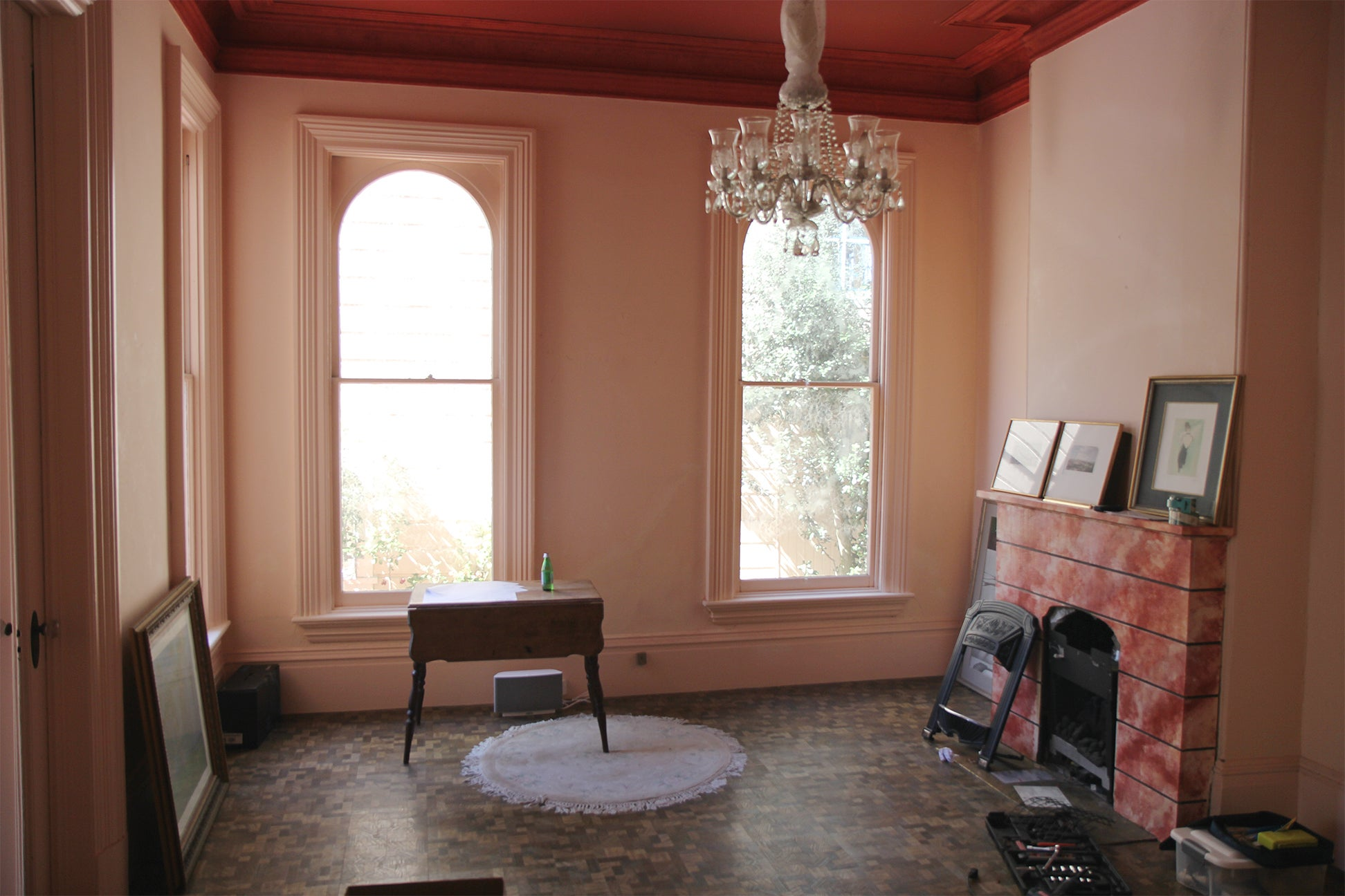 Victorian home before renovation