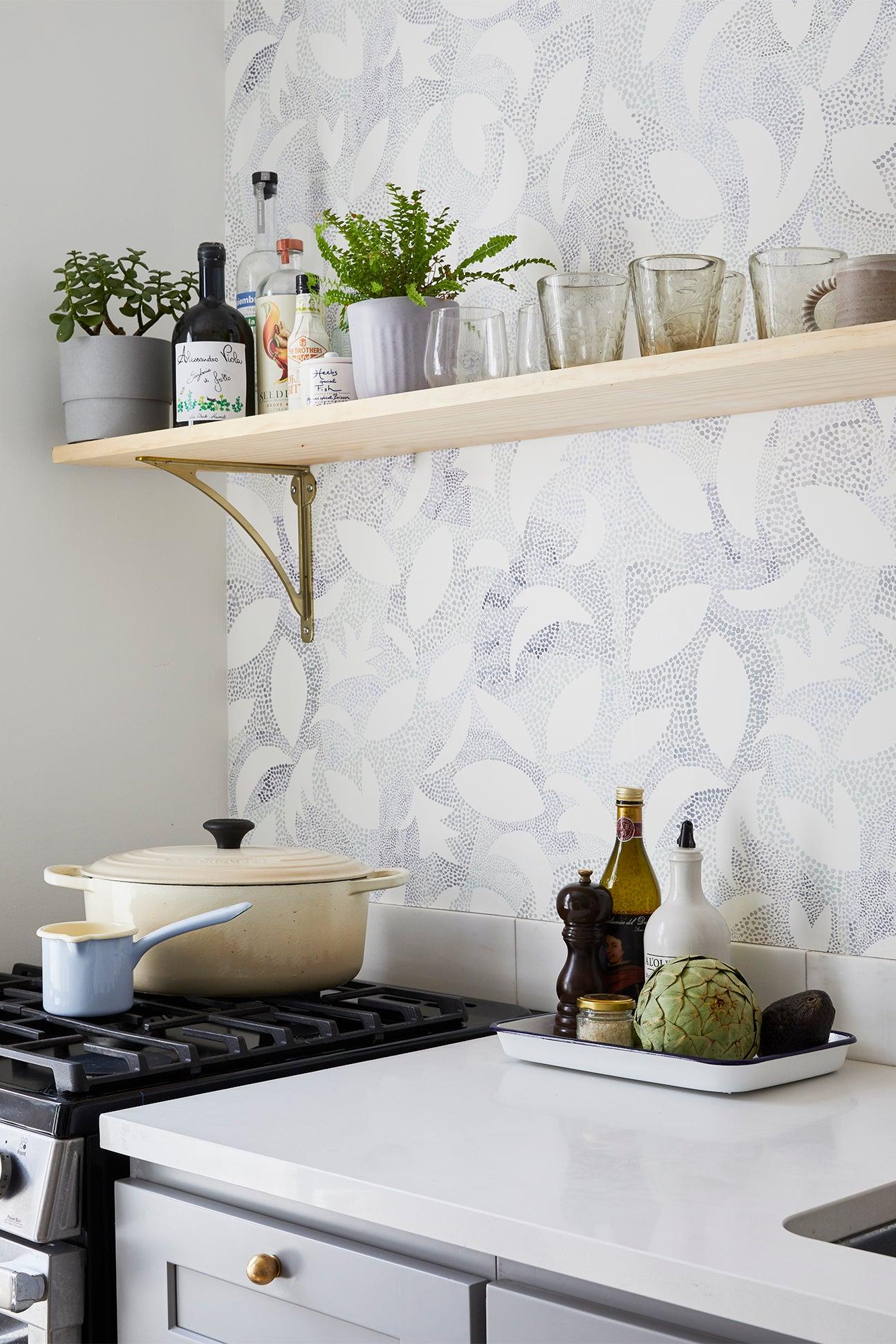 white pot on the stove