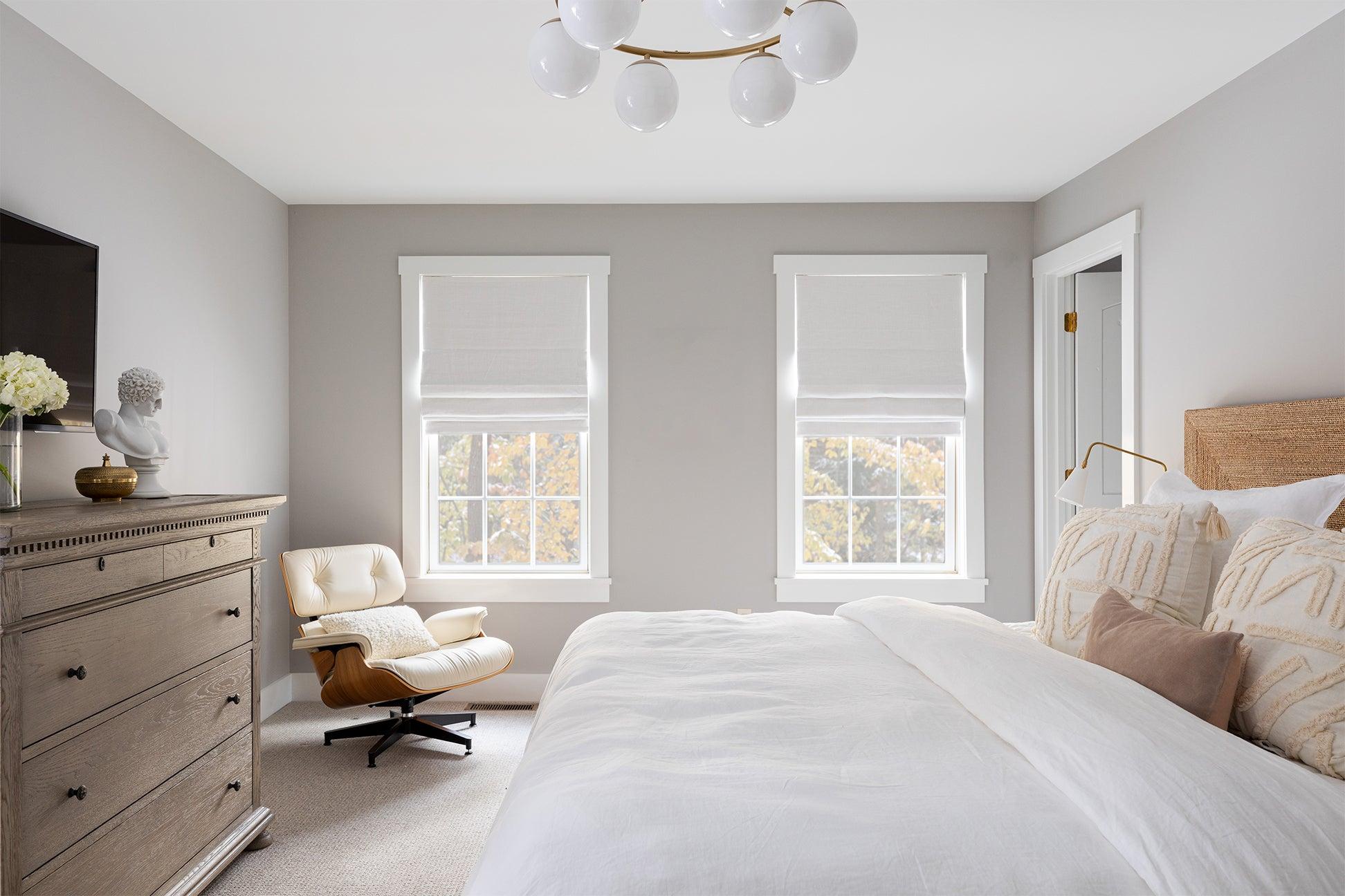 white neutral bedroom