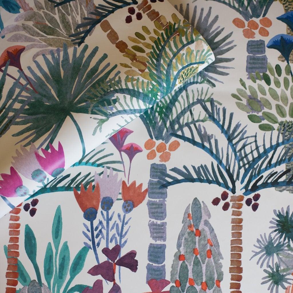 Phoenix Wallpaper in Naturale by Justina Blakeney