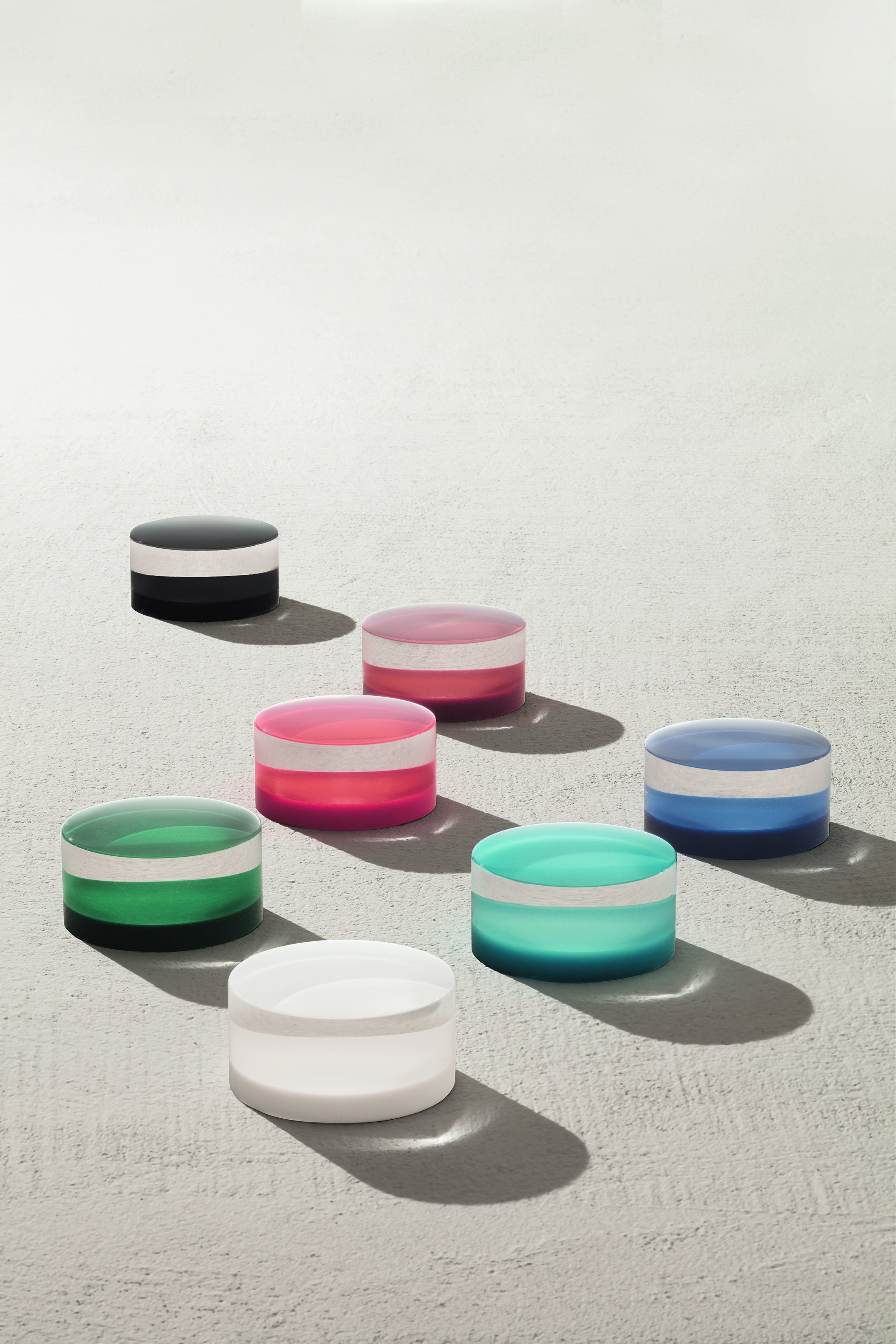 colorful sink knobs