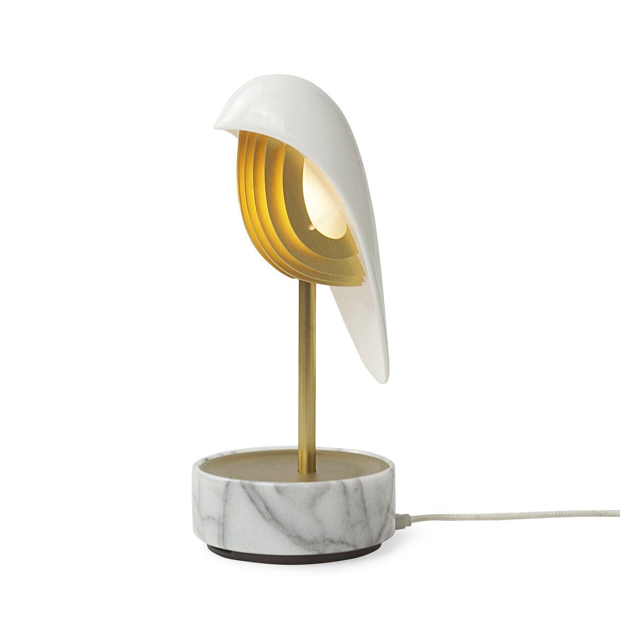 Alarm clock shaped like a bird